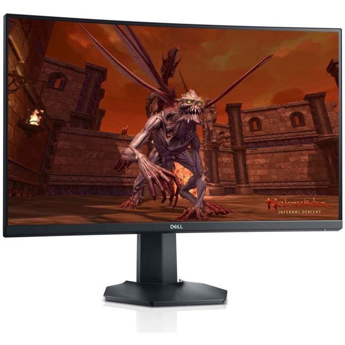 """Écran PC 27"""" Dell S2721HGF - Full HD, incurvé, 144 Hz, Dalle VA, FreeSync, G-Sync compatible (Via ODR de 30€)"""