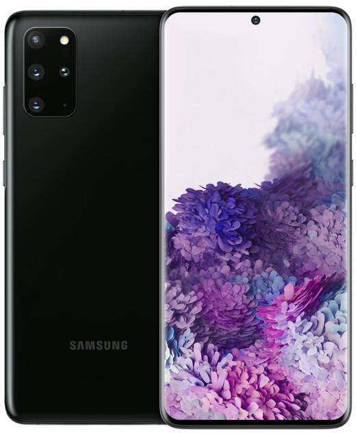 """Smartphone 6.7"""" Samsung Galaxy S20 Plus - WQHD+, Exynos 990, 8 Go RAM, 128 Go, noir (via retrait en magasin)"""