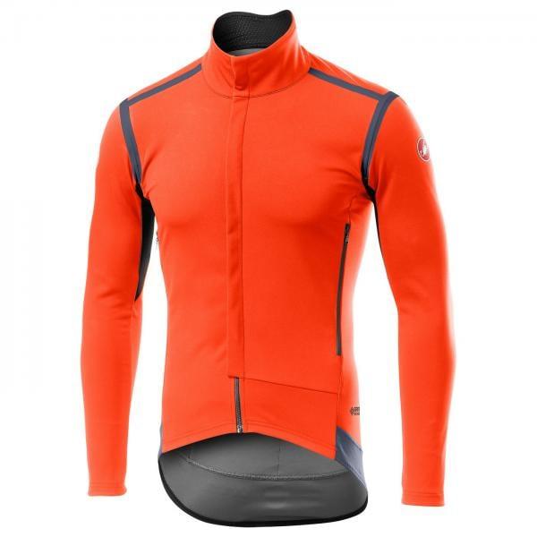 Veste vélo Castelli Perfetto Ros - Orange