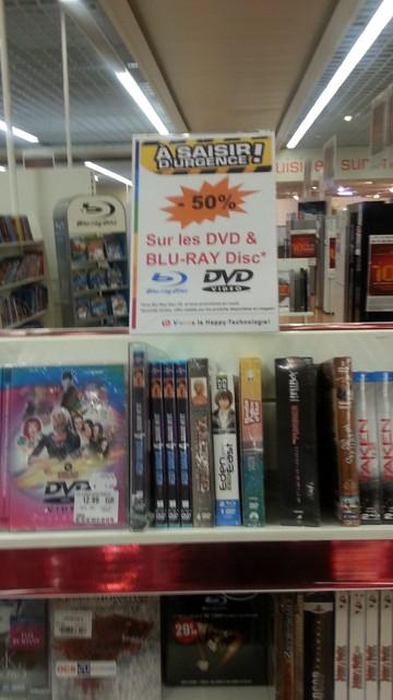 -50% sur  pleins de Blu-ray et DVD ! (dont le coffret Bond)