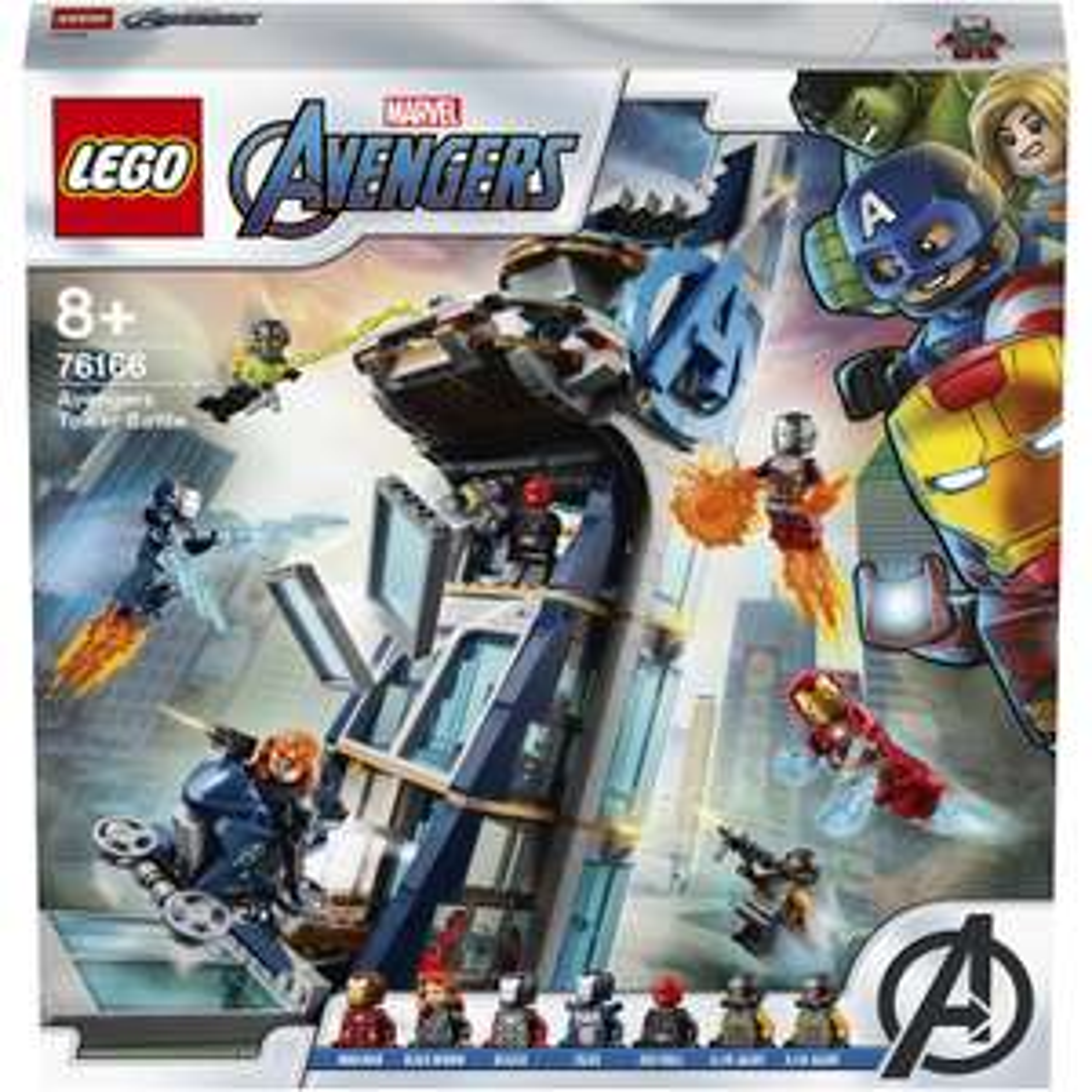 Jeu de construction Lego Marvel: La tour de combat des Avengers n°76166