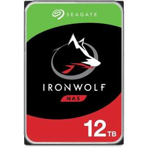 """Disque dur Interne 3.5"""" Seagate NAS IronWolf (ST12000VN0008) - 12 To, 7200 trs/min"""