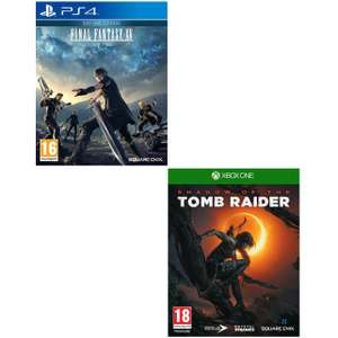 Final Fantasy XV - Day One Edition sur PS4 à 7,98€ ou Shadow of the Tomb Raider sur Xbox One à 9,60€ (Vendeur tiers)