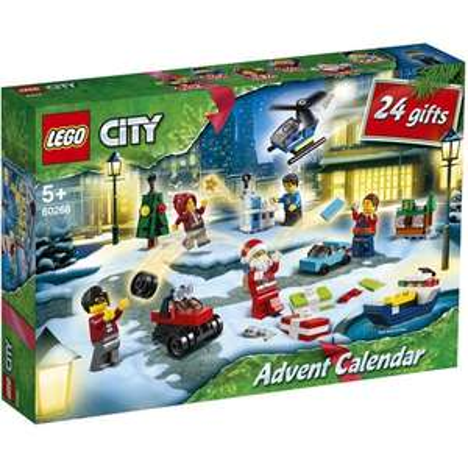 50% de réduction sur le 2ème Calendrier de l'avent Lego acheté parmi une sélection - Ex : Lot de 2 Calendrier de l'avent Lego City 60268
