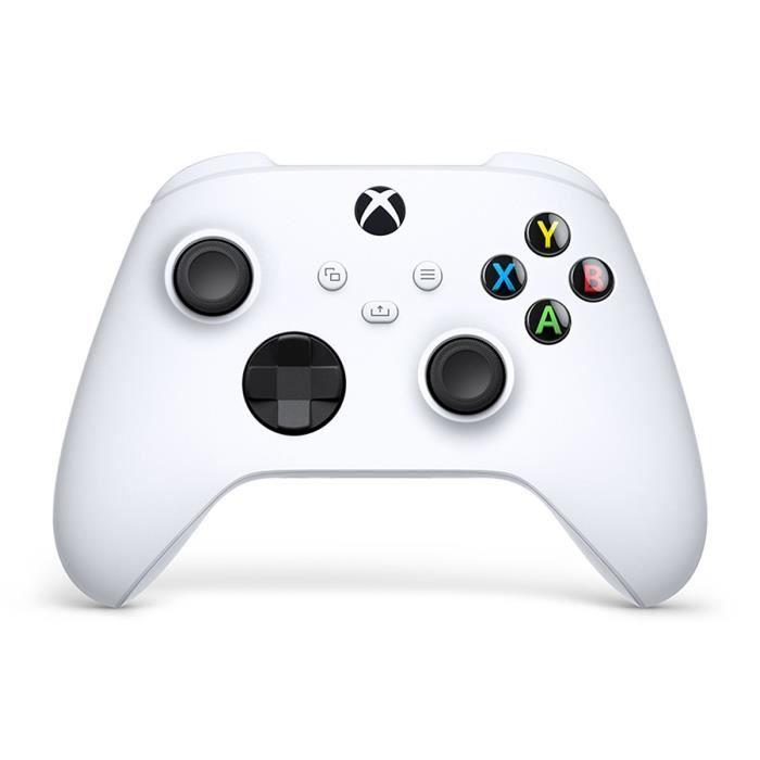 Manette Xbox Series sans fil nouvelle génération - Blanc