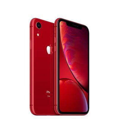 "Smartphone 6.1"" Apple iPhone Xr (full HD Retina, A12, 3 Go de RAM, 64 Go, rouge) - reconditionné (vendeur tiers)"