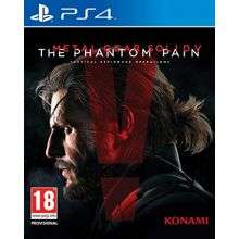 Sélection de jeux PS4 en promotion - Ex : Metal Gear Solid V : The Phantom Pain à 5 euros