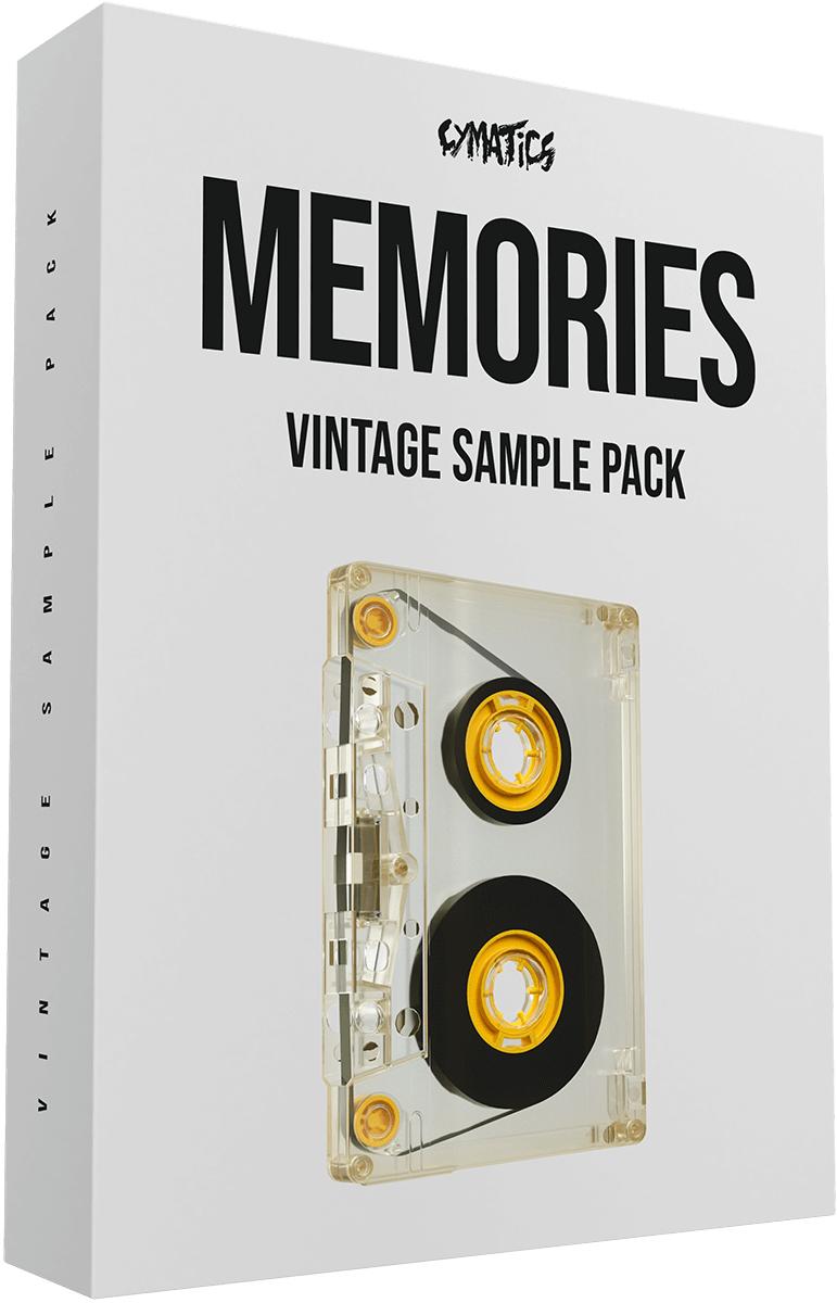 """Pack de Sample Cymatics - """"Memories"""" Vintage Collection (Dématérialisé - cymatics.fm)"""