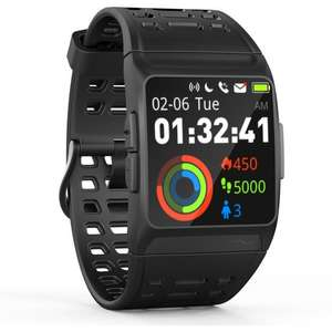Montre connectée Wee Plug Explorer 3s - GPS, Cardio, Bluetooth, Multisports, IP68