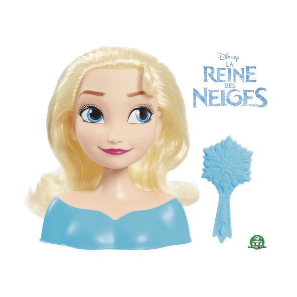 Tête à coiffer reine des neige - Elsa