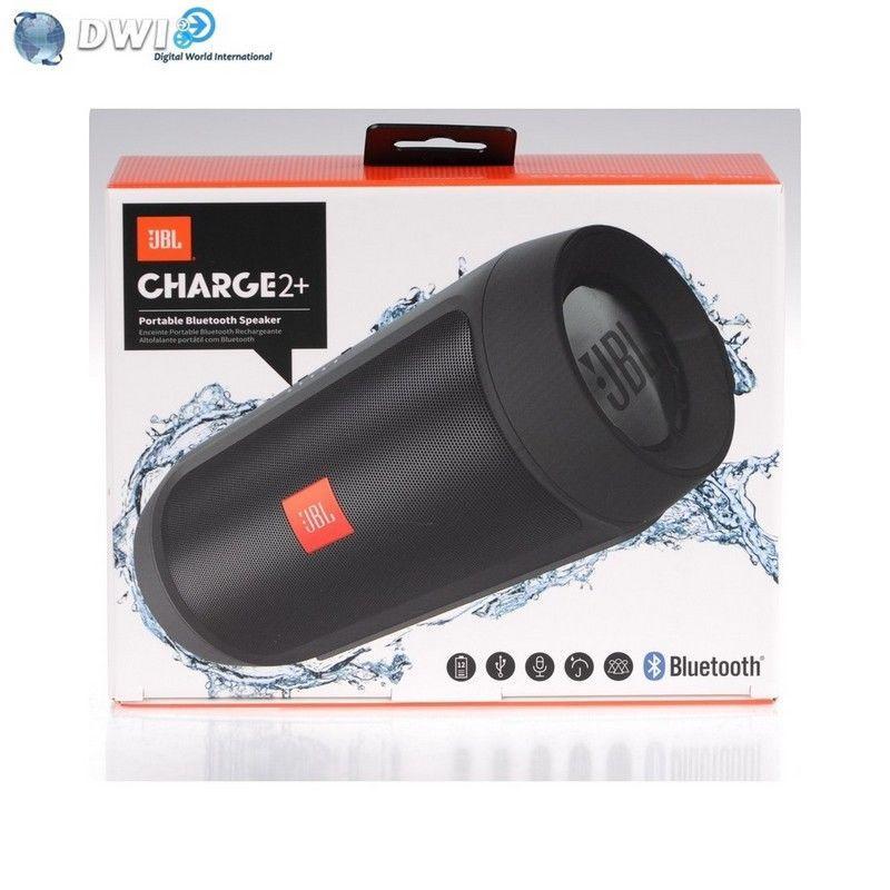 Enceinte bluetooth JBL Charge 2+ - Résistant à l'eau, Noir