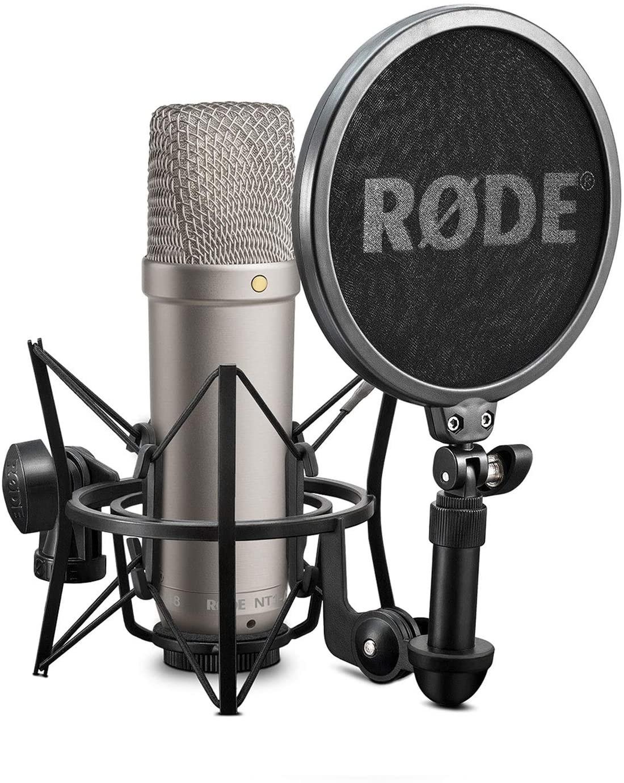 Kit Microphone statique Rode NT1-A + Suspension anti-choc Rode SM6 / Filtre Anti-Pop