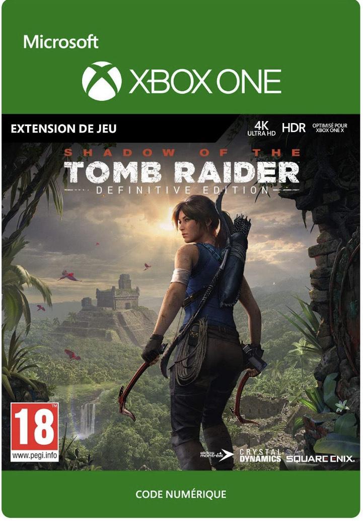 DLC Extra Content pour Shadow of the Tomb Raider sur Xbox One (Dématérialisé)