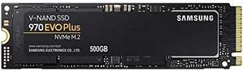 SSD Interne M.2 NVMe Samsung 970 Evo Plus (TLC 3D, DRAM) - 500 Go (MZ-V7S500BW)