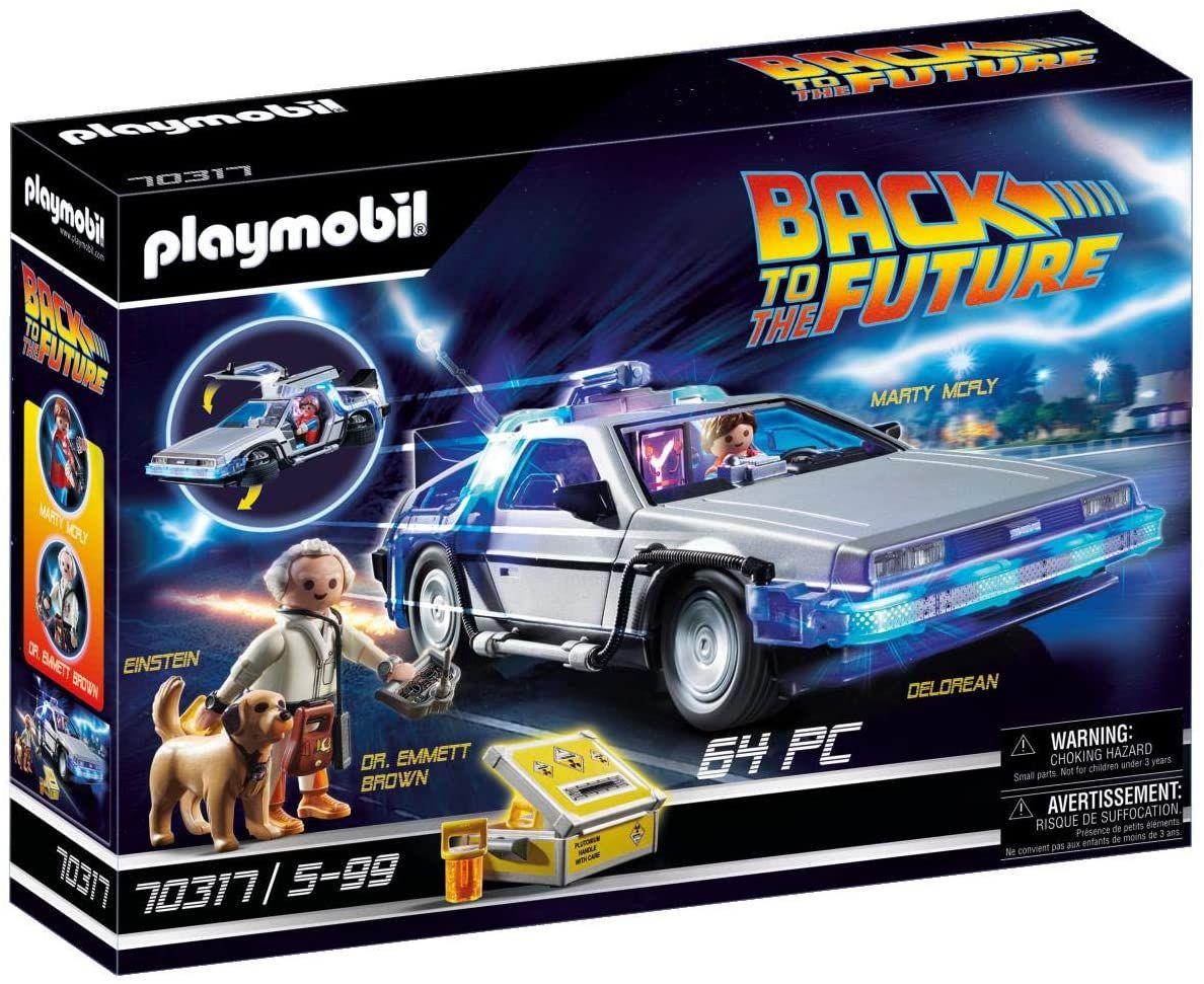 Jouet Playmobil Back to the Future 70317 DeLorean (Via Coupon - Frais de livraison inclus)