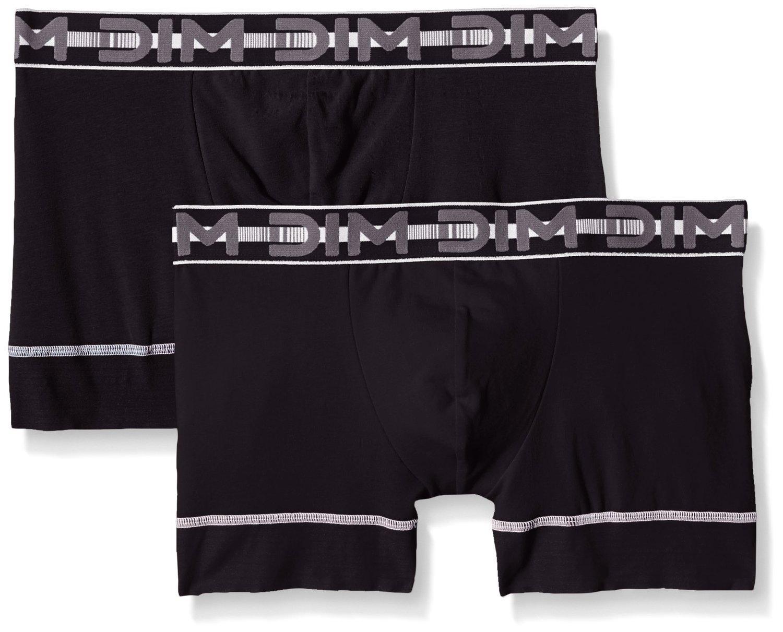 3 Lots de 2 boxers DIM 3D Flex / Stay & Fit - Plusieurs Coloris