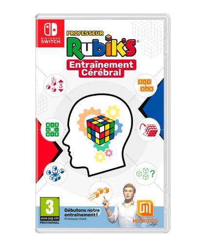 Jeu Professeur Rubik's Entraînement Cérébral sur Nintendo Switch & PS4
