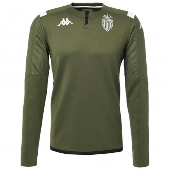 Sélection d'articles en promotion - Ex : Sweat d'entrainement AS Monaco - Vert