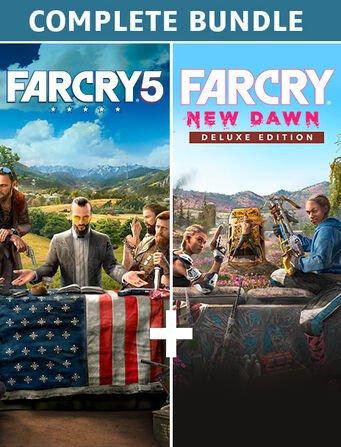 Far Cry 5 + Far Cry New Dawn Deluxe Edition Sur PC (Dématérialisé)