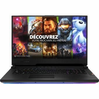"[Adhérents] PC Portable 17.3"" FHD Asus ROG Strix SCAR 17 G732LXS-HG047T - i7-10875H, RTX-2080 Super (8 Go), 16 Go RAM, 1 To SSD, Windows 10"