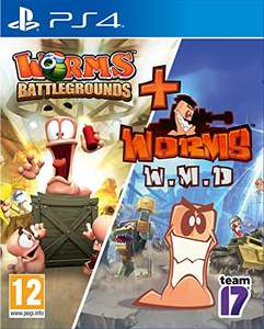 Worms Battlegrounds + Worms WMD sur PS4
