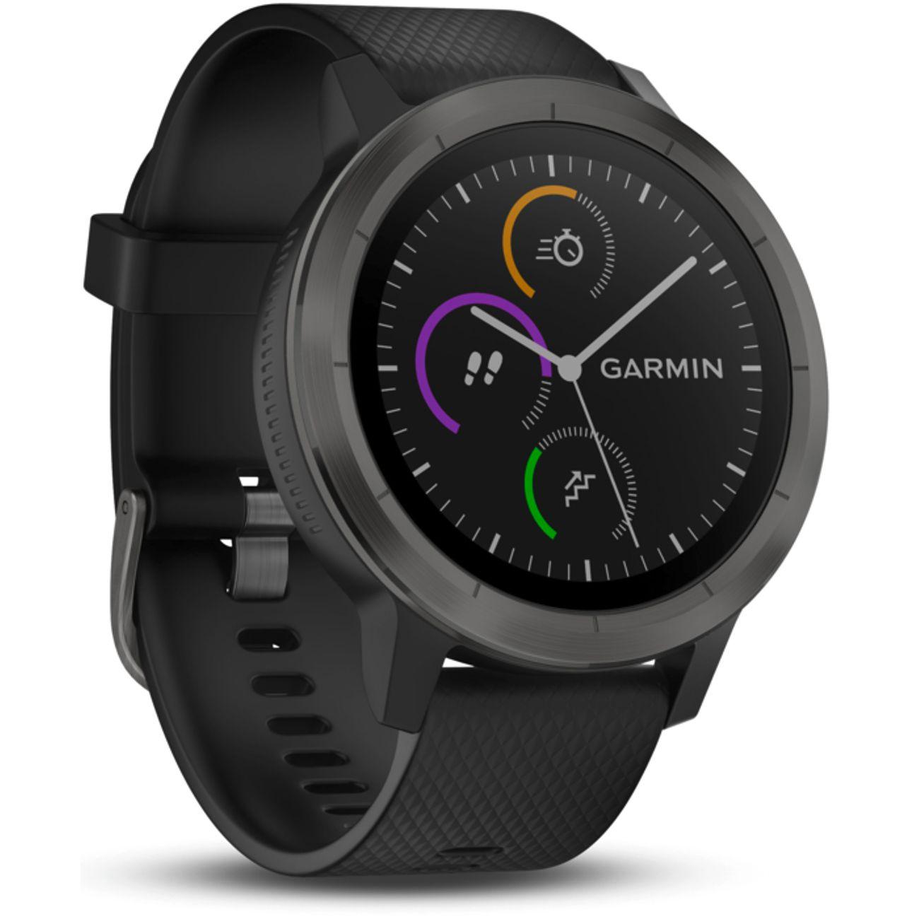 Montre Connectée de Sport GPS Garmin Vivoactive 3 - Noir