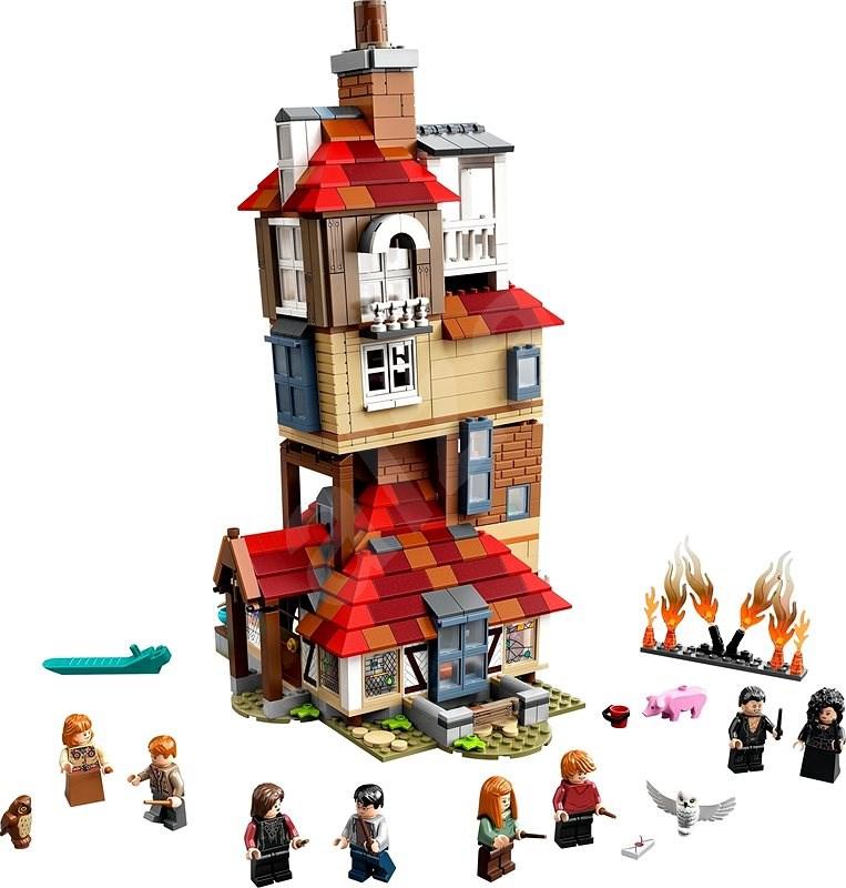 Jeu de construction Lego Harry Potter - L'attaque du terrier des wesley n°75980