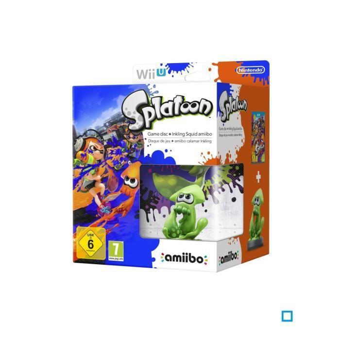 Splatoon sur Wii U + Amiibo Squid