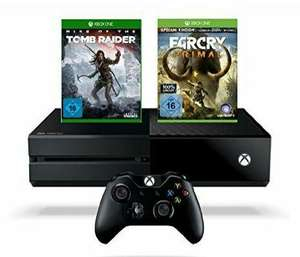 Pack Xbox One 1To + Rise of the Tomb Raider + Far Cry Primal Special Edition (100% Uncut)