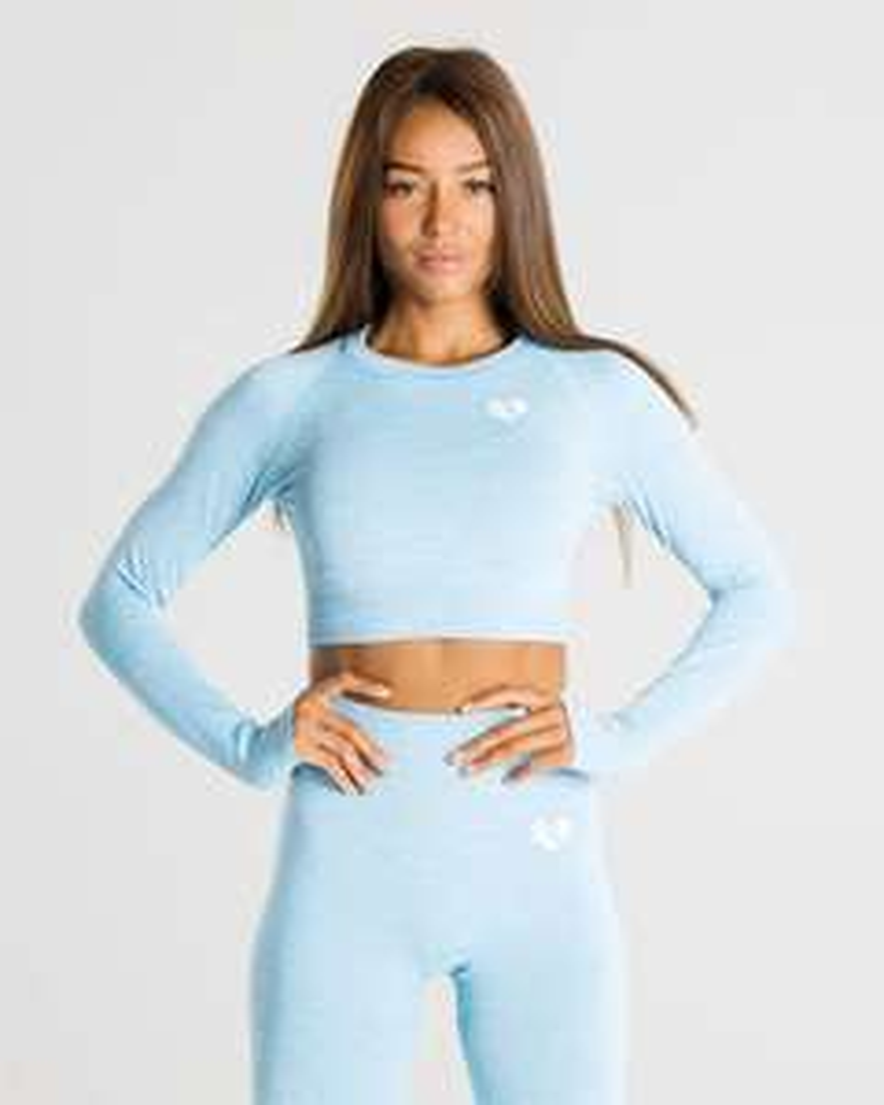 Sélection de produits en promotion - Ex: Crop Top Move Seamless Long Sleeve (womensbest.com)