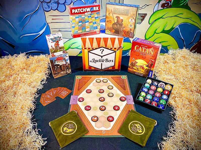 Box surprise de jeux de société Myludikbox
