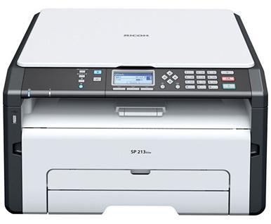Imprimante Laser Multifonction Ricoh SP213SUW - Wifi, Monochrome