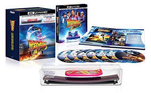 Coffret Blu-Ray 4K Trilogie Retour Vers Le Futur avec mini-hoverboard