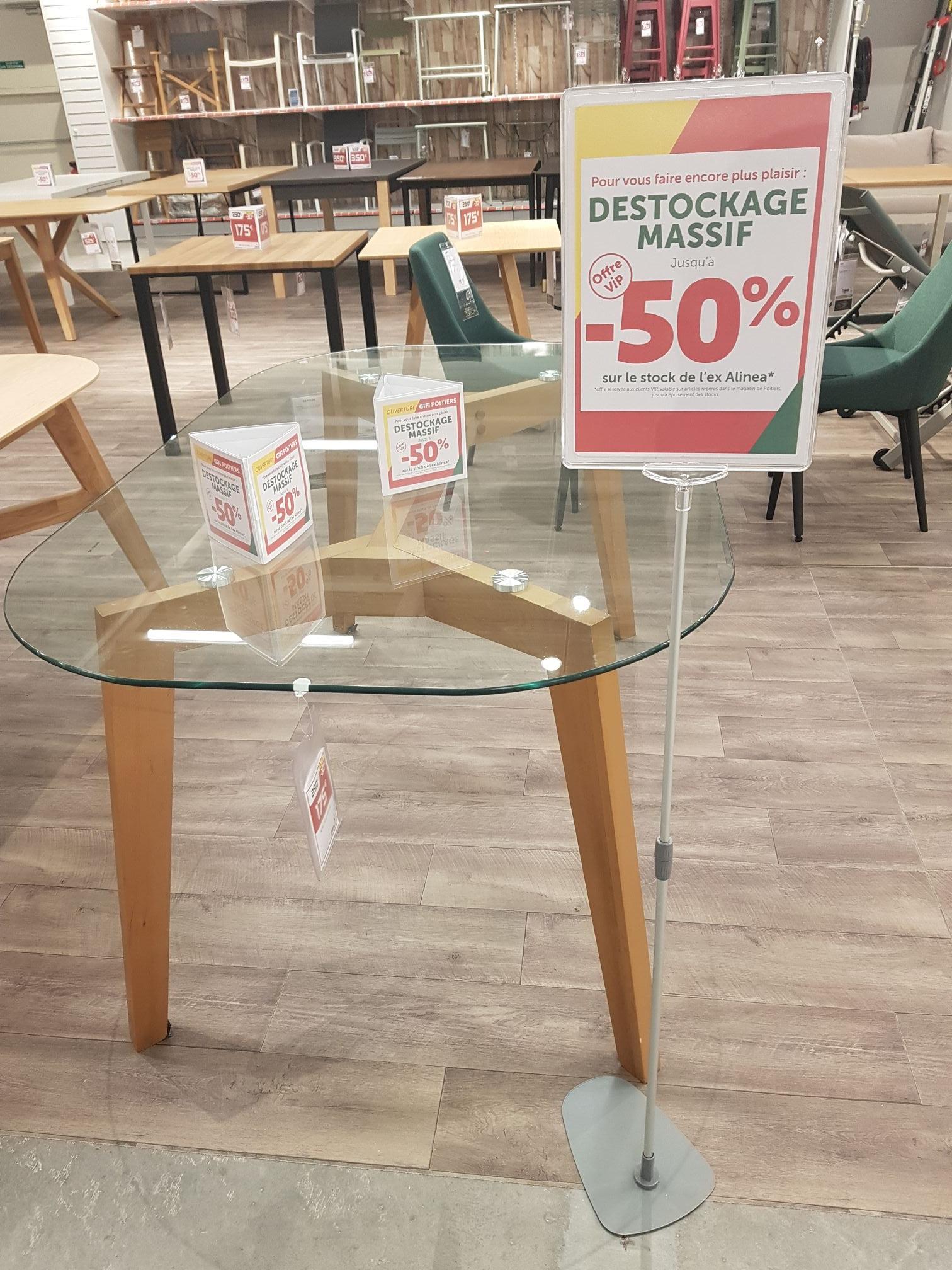 [Client VIP] Sélection de meubles Alinéa en promotion - Poitiers (86)