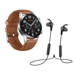 Montre connectée Huawei Watch Latona 46MM + Ecouteurs AM61