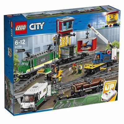 Jeu de Construction Lego City (60198) - Le train de marchandises télécommandé bluetooth