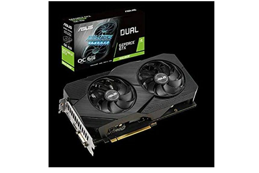 Carte graphique Asus Dual Nvidia GeForce GTX 1660 Super 6GB EVO OC