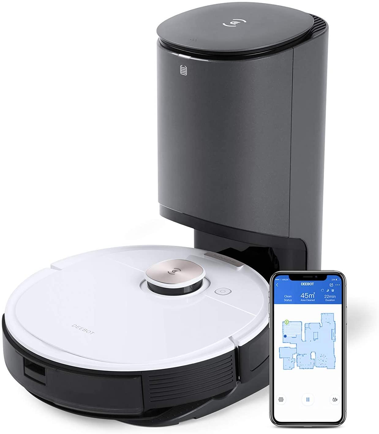 Aspirateur robot Ecovacs Deebot Ozmo T8 +