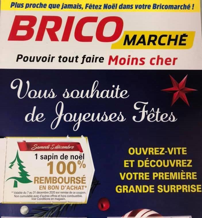 Sapin de Noël 100% remboursé en bon d'achat - Bitche (57)