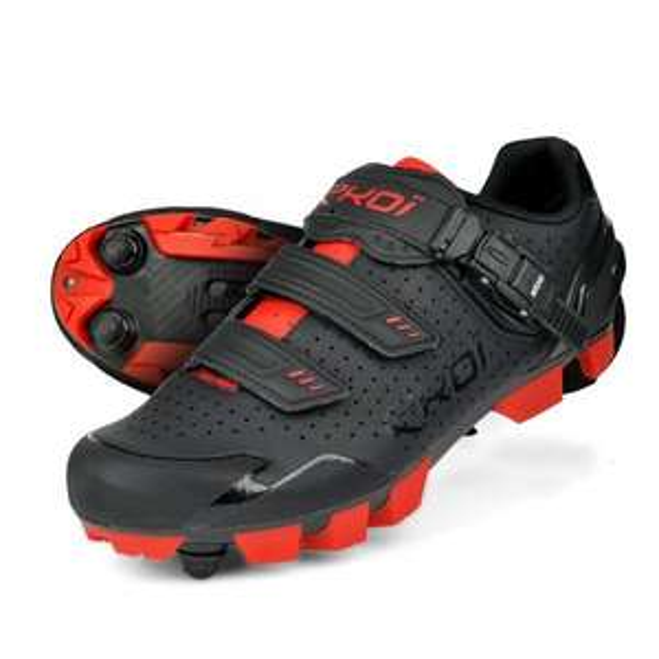 Chaussures Vélo VTT Ekoi MTB XC - Tailles aux choix