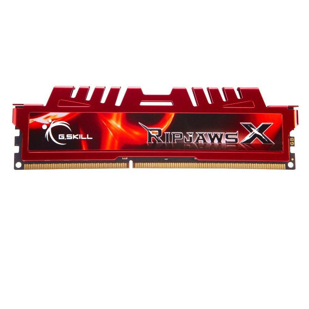 Kit mémoire DDR3 G.Skill Ripjaws 8 Go (2 x 4 Go) - PC12800, 1600Mhz, CL9