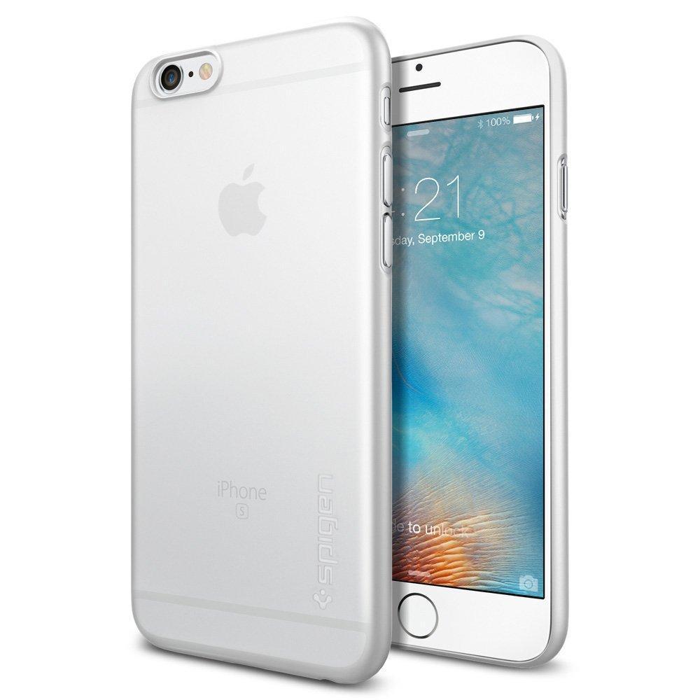 Coque Spigen pour iPhone 6S (AirSkin) - Transparent