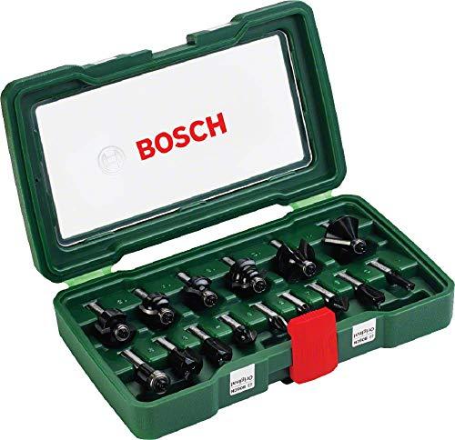 Coffret Bosch de 15 fraises au Carbure - 8mm