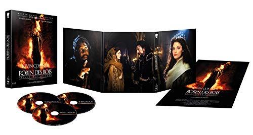 Coffret Blu-ray Robin des Bois, Prince des Voleurs - Édition Spéciale Longue + Version Cinéma (2 Blu-Ray + 1 DVD + 1 poster)