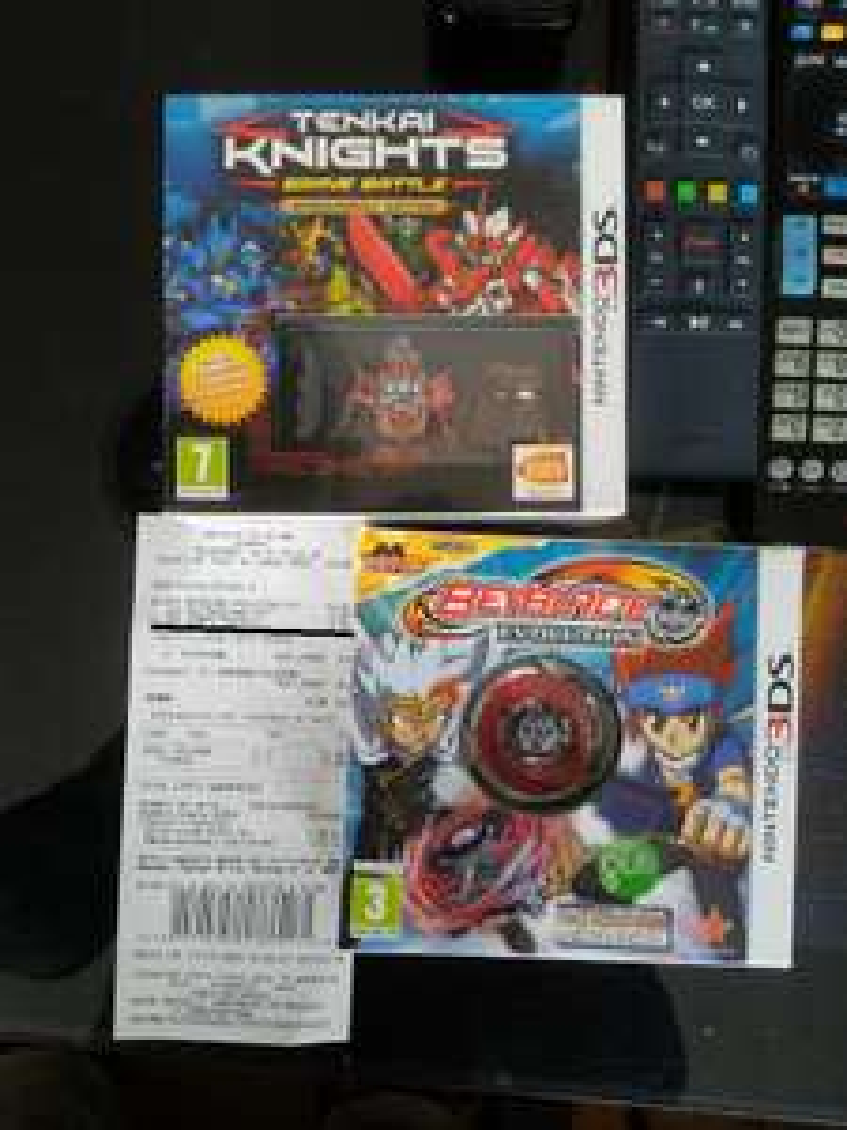 Jeux Beyblade Evolution ou Tenkai Knights sur Nintendo 3DS