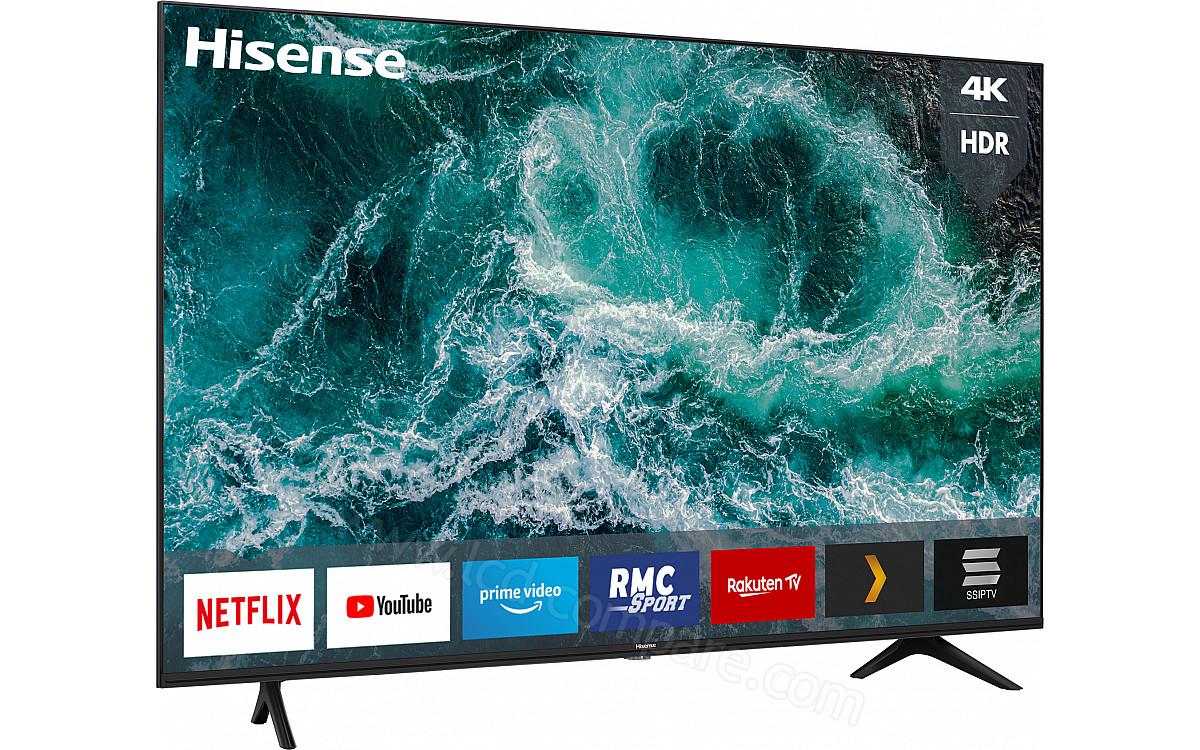 "TV 58"" Hisense 58A7100F - 4K, D-LED, HDR10+ / HLG, Smart TV + Jusqu'à 99,75€ en Rakuten Points (Vendeur Boulanger)"