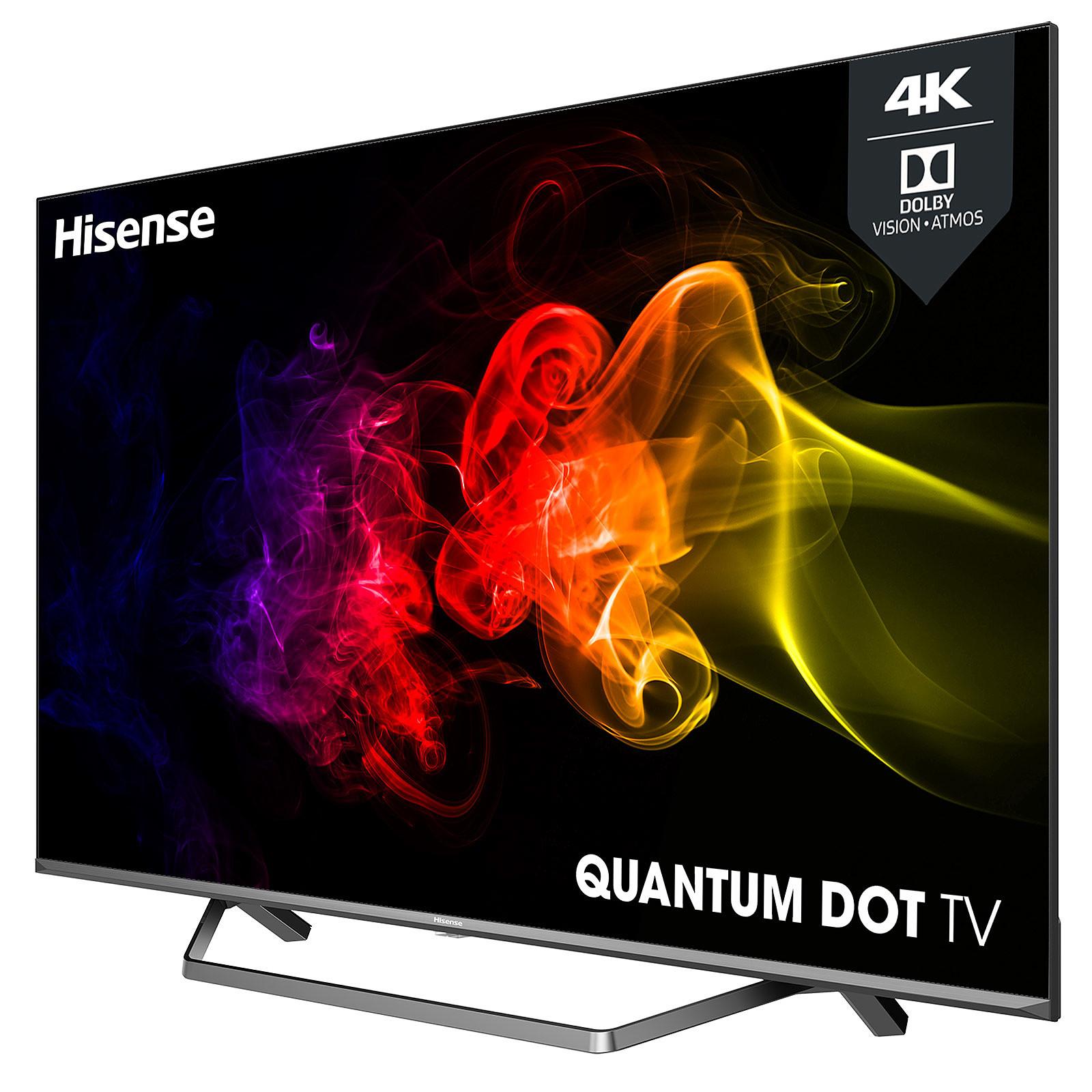 "TV 65"" Hisense 65U72QF - QLED, 4K, HDR 10+, Dolby Vision & Atmos, Smart TV (+ Jusqu'à 224.75€ en Rakuten Points) - Via ODR 200€ (Boulanger)"