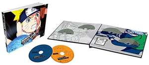 Coffret Blu-Ray Naruto - L'intégrale : Partie 1 (édition limitée) - Partie 2 à 74.29€