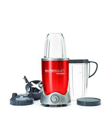 Blender Extracteur de Jus Nutribullet - 900W, Rouge