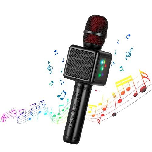 Microphone karaoké sans-fil Cocopa - Bluetooth, avec haut-parleur (vendeur tiers)